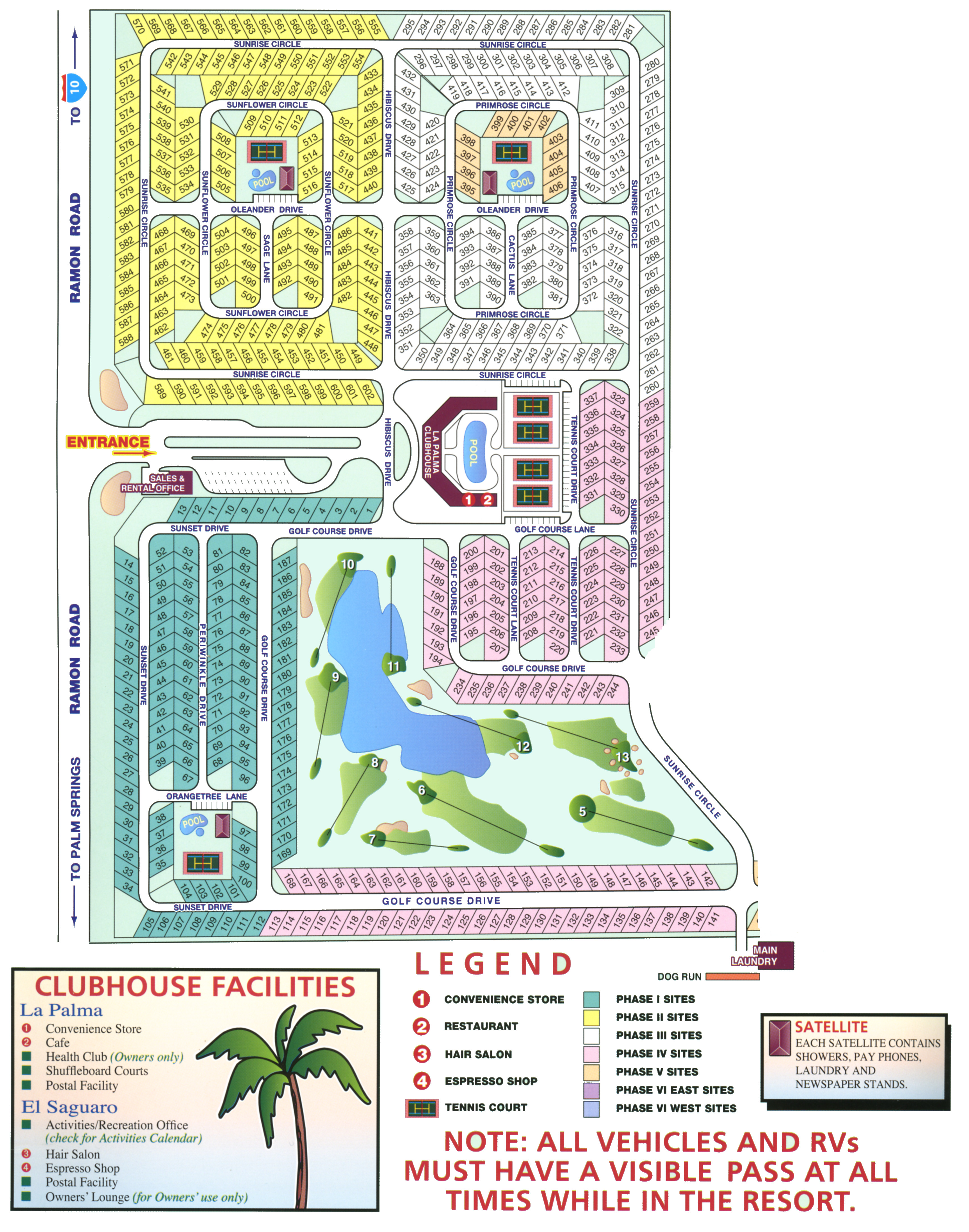 Phil Hahn S Rv Lots 4 Rent Location Map